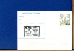 ITALIA - CARTOLINA CP  - MILANO 82 - CASTELLO SFORZESCO - FIP - 6. 1946-.. Repubblica
