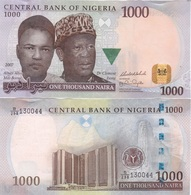 Nigeria - 1000 Naira 2007 AUNC Lemberg-Zp - Nigeria