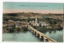 CPA 24 LALINDE Le Pont 1933 - Autres Communes