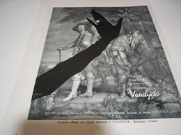 ANCIENNE PUBLICITE ELEGANCE TRADITION  DES BIJOUX VANDYCK 1962 - Jewels & Clocks
