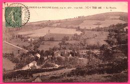 Saint Priest La Prugne - 754 M Altitude 1149 Habitants - Le Moulin - 1925 - Phot. COMBIER MACON - France
