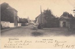 Wolverthem - Wolvertem - Entrée Du Village - Inkom Van Het Dorp - 1905 - Nels Brussel Serie 11 Nr 590 - Meise