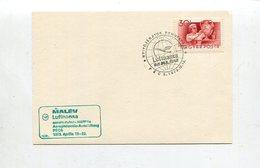 """Ungarn / 1973 / 2 Sonderbelege """"MALEV/Lufthansa-Aerophilatelieausstellung"""" (5/124) - Airmail"""