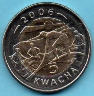 MALAWI  5 Kwacha 2006  UNC/NEUVE  Bimétal - Malawi