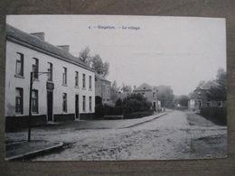 Cpa Gingelom - Le Village - Café Du Commerce - 1906 - Gingelom