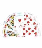 Thème - Jeu - Carte En Forme De Jeu De Cartes à Jouer - Playing Cards