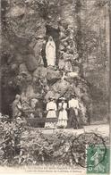 CPA Environs De Bois Halbout Grotte De Notre Dame De Lourdes à Donnay 14 Calvados - Frankrijk