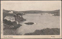 Fowey Harbour, Cornwall, C.1905-10 - Fred Kitto Postcard - England