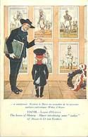 - Thèmes -ref-W940- Illustrateurs - Illustrateur Hansi - La Leçon D Histoire - Wakes D Alsace - - Hansi