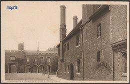 Preachers Court, Looking North, Charterhouse, London, C.1910 - Edward Taylor Postcard - London