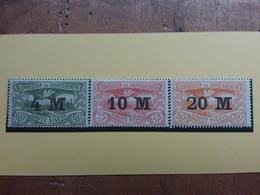 GERMANIA OCCUPAZIONI - ALTA SILESIA 1922 - Sovrastampati Nn. 69/71 Nuovi ** + Spese Postali - Germania