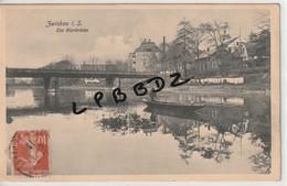 CPA - ALLEMAGNE - SAXE - ZWICKAU I. S. Die Bierbrücke - RARE - Zwickau
