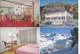 Bivio  - Hotel Guldon - Werbekarte     (90160-03) - GR Graubünden