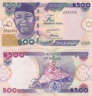 Nigeria - 500 Naira 2005 UNC Pick 30d Lemberg-Zp - Nigeria