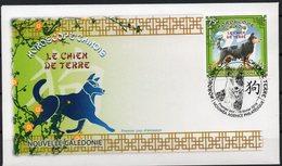 Nouvelle-Calédonie 2018 - Nouvel An Chinois, Année Du Chien - Fdc - Unused Stamps