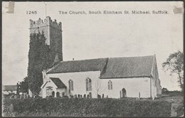 The Church, South Elmham St Michael, Suffolk, C.1905-10 - Pawsey Postcard - England