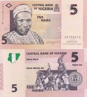 Nigeria - 5 Naira 2007 UNC Lemberg-Zp - Nigeria