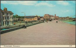 Promenade, Penzance, Cornwall, C.1970s - Harvey Barton Postcard - England