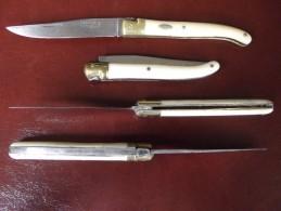 SUPERBE COUTEAU VERITABLE LAGUIOLE 18 Cm Années 1950 - Messer