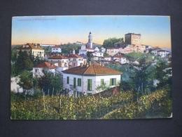 CARTOLINA CASTELLETTO D ORBA 1916 RRR RIF. TAGG (196) - Alessandria