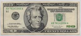 UNITED STATES OF AMERICA BANKNOTE  20 DOLLAR-1996-USED AS SCAN(K) - Biljetten Van De  Federal Reserve (1928-...)