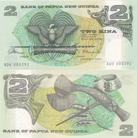 Papua New Guinea - 2 Kina 1981 - 1987 Pick 5a UNC Lemberg-Zp - Papua New Guinea