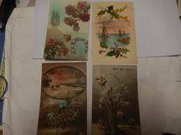 """Lot De 50 Cartes """" Bonne Année Bonne Fete Paysage Fleurs Etc ( Neuve Et Ecrite ) - Fancy Cards"""