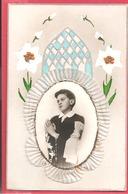 Souvenir De 1re Communion. Carte Postale : Guy Georget De St Hilaire De La Varenne.1945 - Imágenes Religiosas