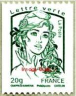 France Marianne De La Jeunesse Par Ciappa Et Kawena N° 4778,** Le Gommé 20 Grammes Roulette Verte - 2013-... Marianne (Ciappa-Kawena)