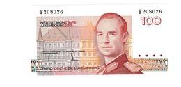 Luxemburg 100 Franc UNZ - Luxembourg