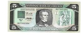 Liberia 5 Dollar UNZ - Liberia