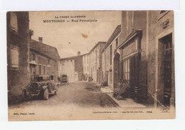 La Drôme Illustrée. Montoison. Rue Principale. Voiture Ancienne. Devanture Magasin. (2778) - Frankrijk