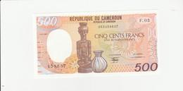 Kamerun 500 Francs UNZ - Cameroun