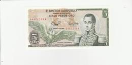 Kolumbien 5 Peso UNZ - Colombia