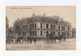 Beaune. Ecole Communale. Calèche. (2780) - Beaune