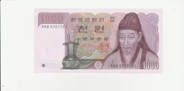 Korea  1000 Won UNZ - Korea, South