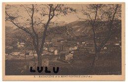 DEPT 84 : édit. J Brun N° 9 : Malaucène Et Le Mont Ventoux - Malaucene