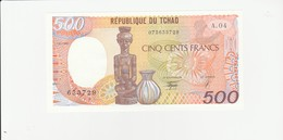 Tschad  500 Franc UNZ - Tchad
