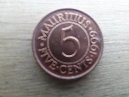 Maurituis  5  Cents  1999  Km 52 - Mauritius
