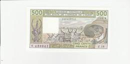 Senegal  500 Francs UNZ - Senegal
