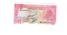 Sao Tomé E Principe 50 Dobras UNZ - Sao Tomé Et Principe