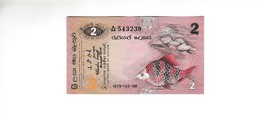 Sri Lanka 2 Rupees UNZ - Sri Lanka