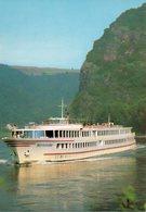 Kabinenschiff DEUTSCHLAND -  Köln-Düsseldorfer Rheindampfschifffahrt (Company Issue) - Dampfer