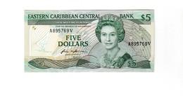 St. Vincent 5 Dollar UNZ - East Carribeans