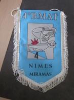 FANION MILI 4 RMAT NIMES MIRAMAS / 16 X 27 CM - Flags