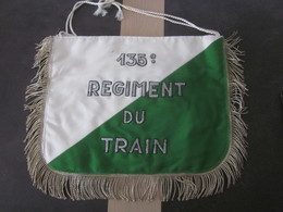 RARE FLAMME DE TROMPETTE 135 REGIMENT DU TRAIN / UN PEU SALE - Flags