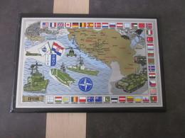 BELLE PLAQUE IFOR BOSNIE /  21 X 31 CM - Army & War
