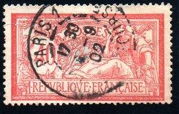 Type MERSON - 1900: 40c Rouge Et Bleu - N° 119 Obli. - France