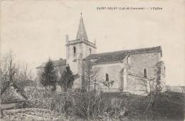 PA6- 47) SAINT SALVY (LOT ET GARONNE) L'EGLISE  - (2 SCANS) - France