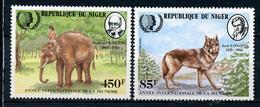 1985 - NIGER - Catg.. Mi. 933+936 - (I-SRA3207.15) - Niger (1960-...)